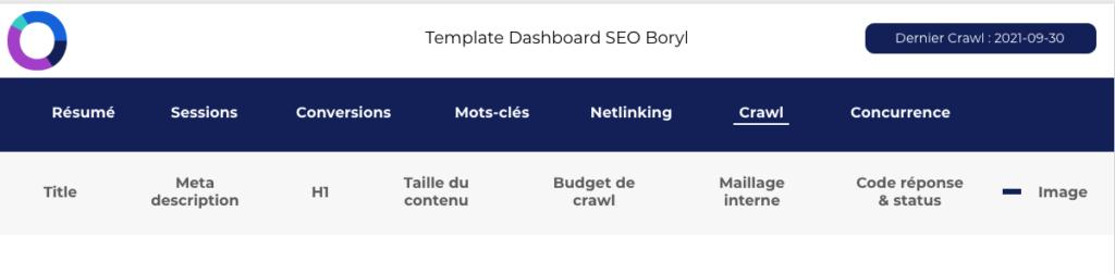 Créer un menu de navigation sur Google Data Studio