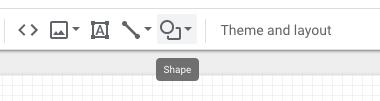 Ajouter des formes sur google data studio